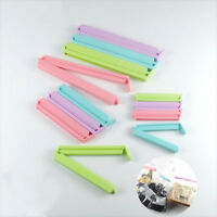 12pcs/set Food Snack Storage Sealing Bag Clips Keeping Fresh Sealing Clips:#Y6