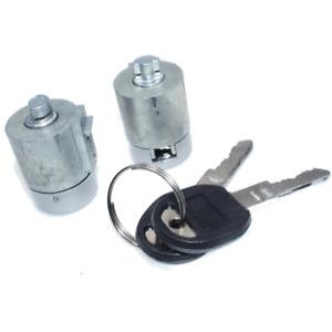 Door Lock Cylinder Kit w/ Keys For GMC Chevy C1500 C2500 C3500 K1500 Tahoe Yukon