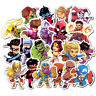 50 Waterproof Super Hero Stickers For MARVEL DC Graffiti Sticker For Skateboard