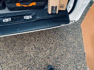 Rear Bumper Protector (Rolled Edge) MAT ABS PLASTIC FOR MERCEDES VITO W447