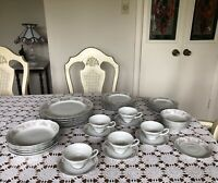 STYLE HOUSE-POMPADOUR-CHINA -MADE IN JAPAN 41 PIECES-DINNERWARE SET For 6