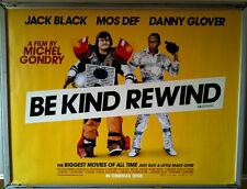 Cinema Poster: BE KIND REWIND 2008 (Quad) Jack Black Mos Def Danny Glover