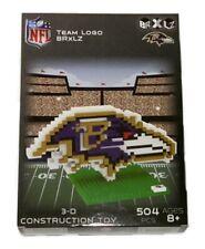Baltimore Ravens NFL 3D Logo BRXLZ Brick Construction Set Puzzle