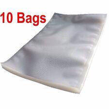 Pack de 10 en relief Food scelleuse sous vide sacs d'emballage Sac 30 x 40 mm