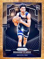 Brandon Clarke 2019 Panini Prizm Basketball Rookie No. 266 Grizzlies SP RC