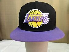 HARDWOOD CLASSIC New Era Hat NBA Los Angeles LAKERS Cap Fitted 7 1/4 50th