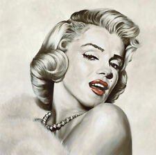 Sexy MARILYN MONROE ART PRINT - Dazzle by Frank Ritter 27.5x27.5 Large Poster