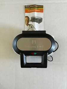 Wolfgang Puck BPM00020 Pie Maker with Instruction Manual
