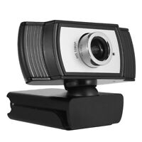 UK 1080P Computer Webcam USB Plug-n-play Web Camera with Microphone for PC