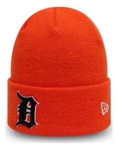 New Era - MLB Detroit Tigers League Essential Knit Cuff Beanie - Orange