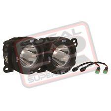 Vision X Replacement Fog Light Optimus Round LED Kit Jeep Wrangler JK