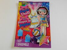 """My Own Paper Doll by Creative Kids - 6+ 5.5""""doll New in package"""