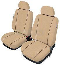 Sitzbezüge camel hell braun/beige vorne CAM FIAT PANDA 2012-