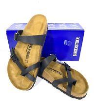 Birkenstock Mayari Women's Size 9 (EU40)Reg Fit Black Birko Sandals KB-2261