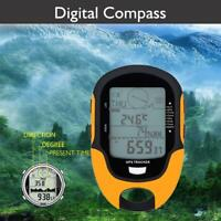 Digital LCD GPS Compass Altimeter Barometer Thermometer Hygrometer For SUNROAD