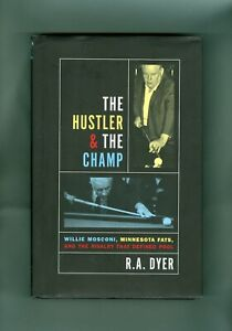The Hustler & The Champ Willie Mosconi Minnesota Fats Pool Billiards R. A. Dyer