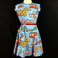 Vintage 70's Topps Series 2 Wacky Packages Skater Dress Handmade