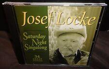 Josef Locke Saturday Night Singalong - 34 Great Songs (CD, 1994)