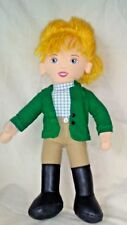 Heart Song Plush Doll Blonde Hair Green Tan Horse Riding Outfit 2006 Blue Eyes
