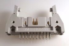 3M 3428-6308 Latched Header Plug PCB Mount Gold Plated Pins 20 Way OM0296