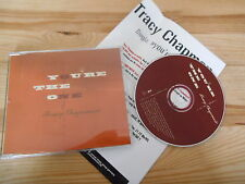 CD POP Tracy Chapman-you 're the One (1) canzone PROMO Elektra + presskit SC