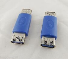 10pcs USB 3.0 Type A External Female To Female Connector Cable Extender Adapter
