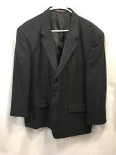 Ralph Lauren Blazer Jacket Suit Coat Mens 3 Button Purple Label Black Italy