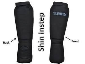 ProAthletica Shin Instep MMA Leg Foot Guards Muay,Thai Kick Boxing Martial Arts