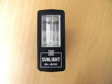 Non dedicated Flash - Sunlight Electronic Flash SL-200 - Tested Working