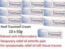 10 x 50g HEEL Traumeel Anti Inflammatory Cream temporary relief bruising , sore