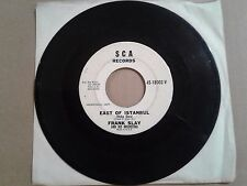 """Frank Slay 7"""" 45 East Of Istanbul / BULL FIGHT PRIVATE Exotica Surf Rocker WLP"""