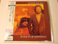 "RUPERT HOLMES ""Pursuit Of Happiness"" Japan mini LP SHM CD"
