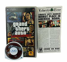 New listing Grand Theft Auto Lib 00006000 erty City Stories Sony Psp 2005 With Manual Working Tested