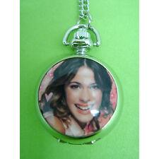 VIOLETTA Child Girl Kids Fashion Pocket Pendant Necklace Watch NEW