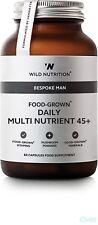 Wild Nutrition FAIT SUR MESURE HOMME food-grown journalier multi nutriment 45+
