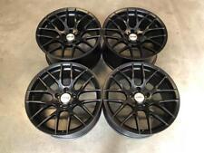 "19"" Strom M359 DEEP CONCAVE Wheels Satin Black BMW 5x120 E90 E92 E93 M3 Models"