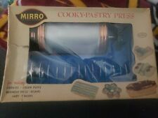 Vintage Mirro 1960s Cookie Cooky Pastry Press  Made in the USA.  358-AM NEW