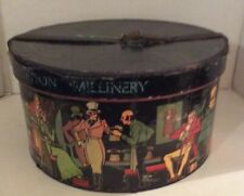 Vintage Stetson Millinery Hat Box Only 1930's-1940's New York No Hat