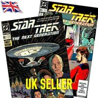 Star Trek The Next Generation TNG DC Comics Vol 2 1989-1996 Bagged and Boarded