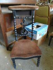 Ancien prie Dieu, ancienne chaise d'église, de chapelle, de couvent, Napoléon