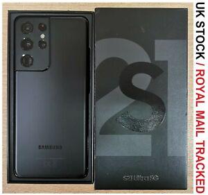 Samsung Galaxy S21 Ultra 5G SM-G998B/DS - 128GB - Phantom Black (Unlocked) UK