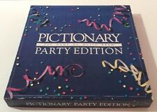 "Vintage  ""Pictionary Party Edition"" by Pictionary Inc. - 1989 Ed - 100% Complete"