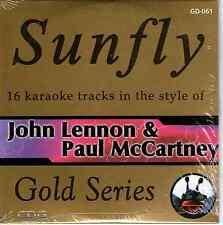Sunfly Karaoke Gold (SFGD061) - John Lennon & Paul McCartney