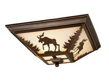 yellowstone 14W moose vaxcel flush lighting light burnished bronze CC55614BBZ