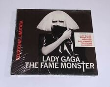 """LADY GAGA """"THE FAME MONSTER"""" RARE DOUBLE CD 2009 LIMITED EDITION ITALY - SEALED"""