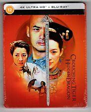 Crouching Tiger Hidden Dragon Steelbook (4K Ultra Hd/Blu-ray) Zavvi Import