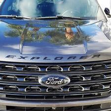 NEW Ford Licensed 2011-2017 Ford Explorer Sport GLOSS BLACK Hood Letters Emblem