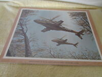 Vintage Lockheed Concept Helicopter  Photo 11x14 # 1