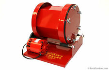 Large ROCK POLISHER holds 15 lb Thumlers Tumbler glass metal # 140