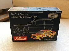 fiat 131 abarth #9 rallye monte carlo 1980 schuco piccolo 1/90